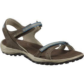 Columbia Santiam Sandals Women Mud/Canyon Blue